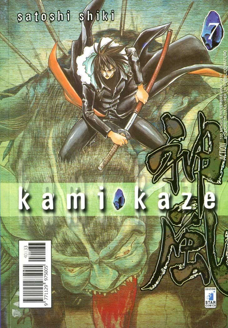 Kamikaze - N° 7 - Kamikaze 7 (M9) - Action Star Comics