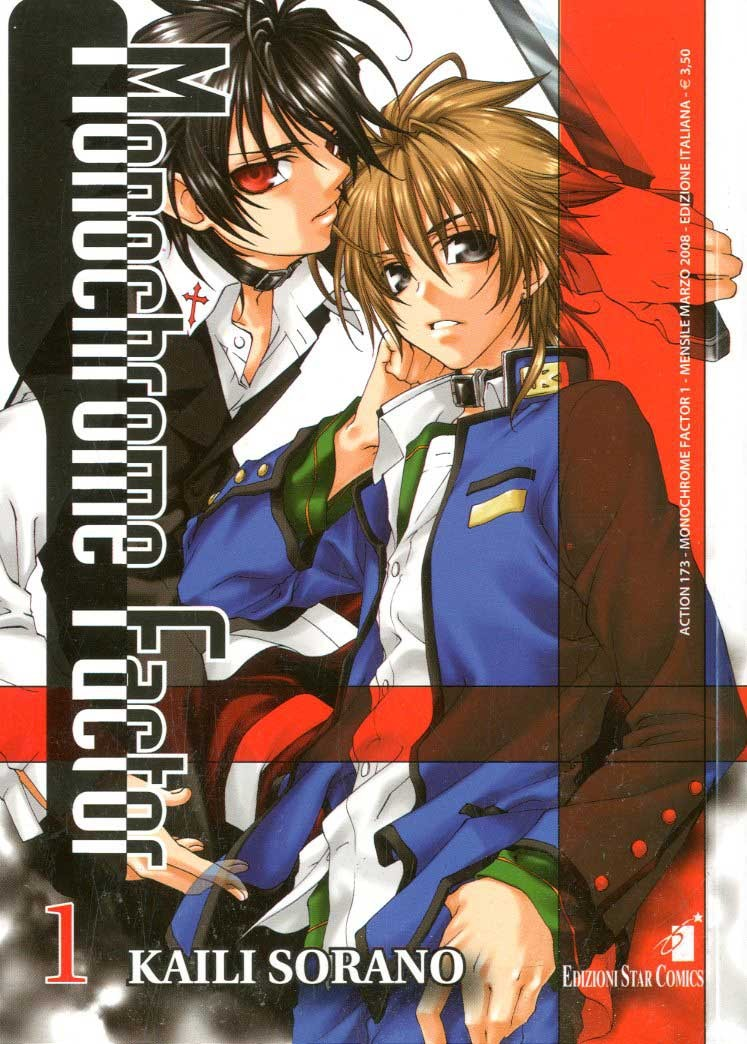 Monochrome Factor - N° 1 - Monochrome Factor 1 - Action Star Comics