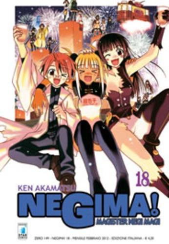 Negima! - N° 18 - Negima! (M38) - Zero Star Comics
