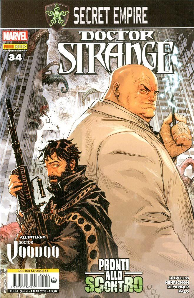 Doctor Strange - N° 34 - Doctor Strange - Marvel Italia