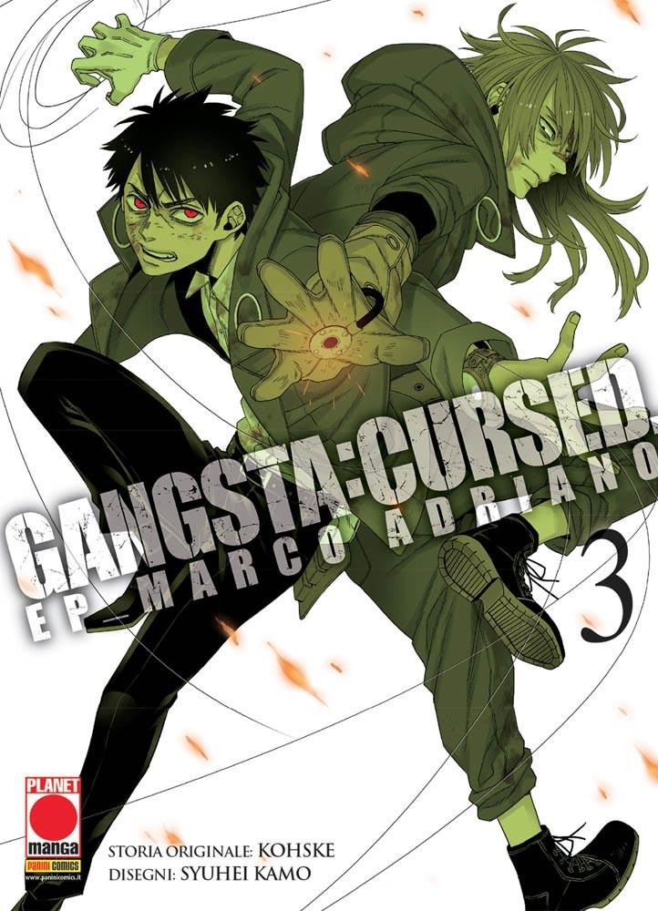 Gangsta Cursed - N° 3 - Ep_Marco Adriano - Gangsta Planet Manga
