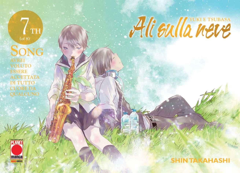 Yuki E Tsubasa - N° 7 - Ali Sulla Neve - Manga Sound Planet Manga