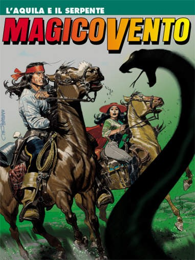 Magico Vento - N° 129 - L'Aquila E Il Serpente - Bonelli Editore