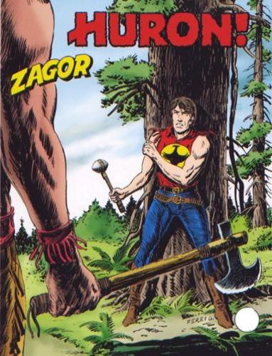 Zenith Gigante - N° 541 - Huron! - Zagor Bonelli Editore