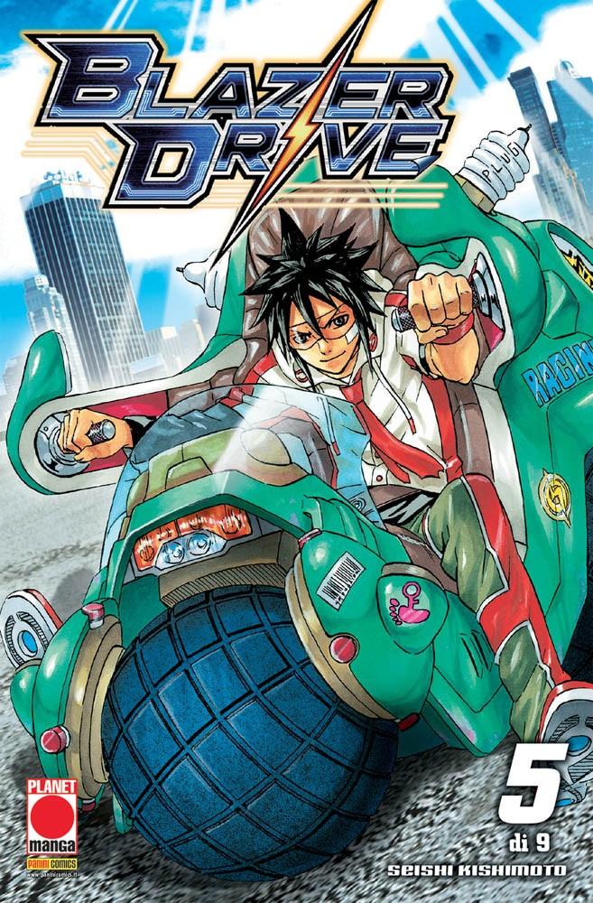 Blazer Drive - N° 5 - Blazer Drive - Manga Hero Planet Manga