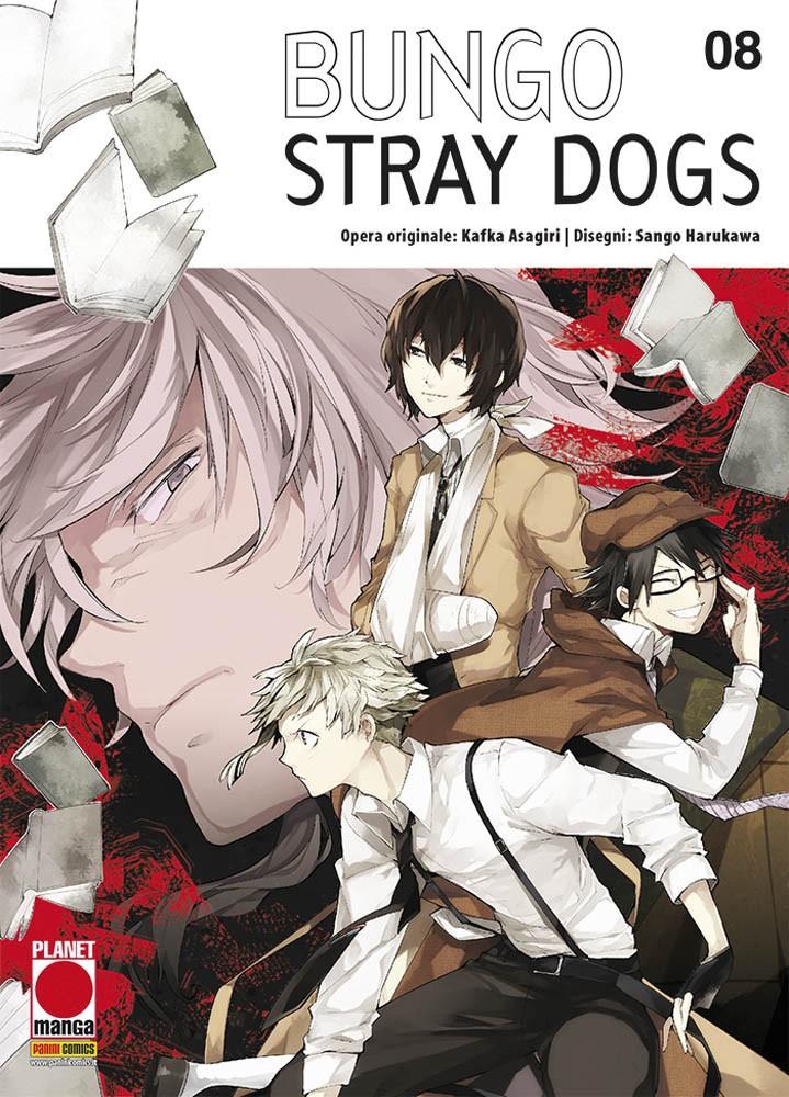 Bungo Stray Dogs - N° 8 - Bungo Stray Dogs - Manga Run Planet Manga
