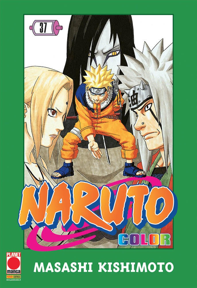 Naruto Color - N° 37 - Naruto Color - Planet Manga