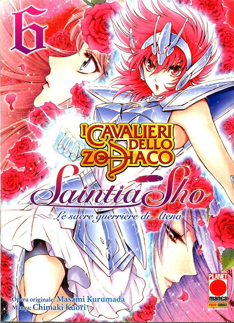 Cavalieri Zodiaco Saintia Sho - N° 6 - Cavalieri Dello Zodiaco Saintia Sho - Manga Legend Planet Manga