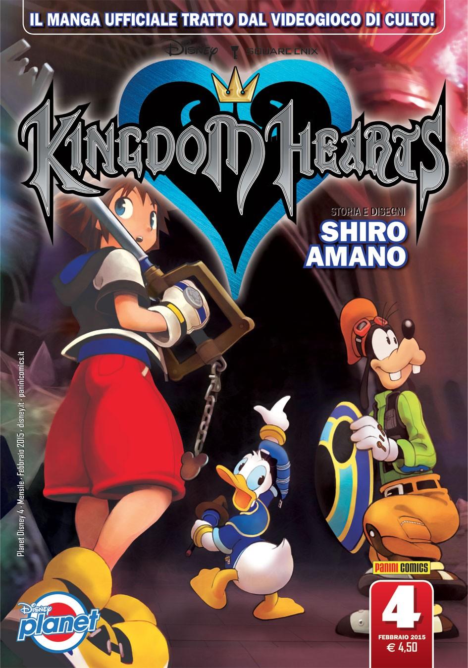 Kingdom Hearts - N° 4 - Kingdom Hearts - Planet Manga