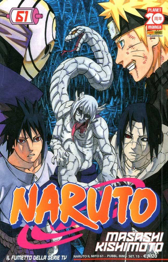 Naruto Il Mito - N° 61 - Naruto Il Mito - Planet Manga