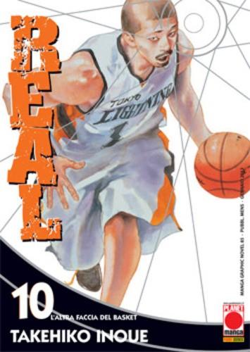 Real - N° 10 - Real - Manga Graphic Novel Planet Manga