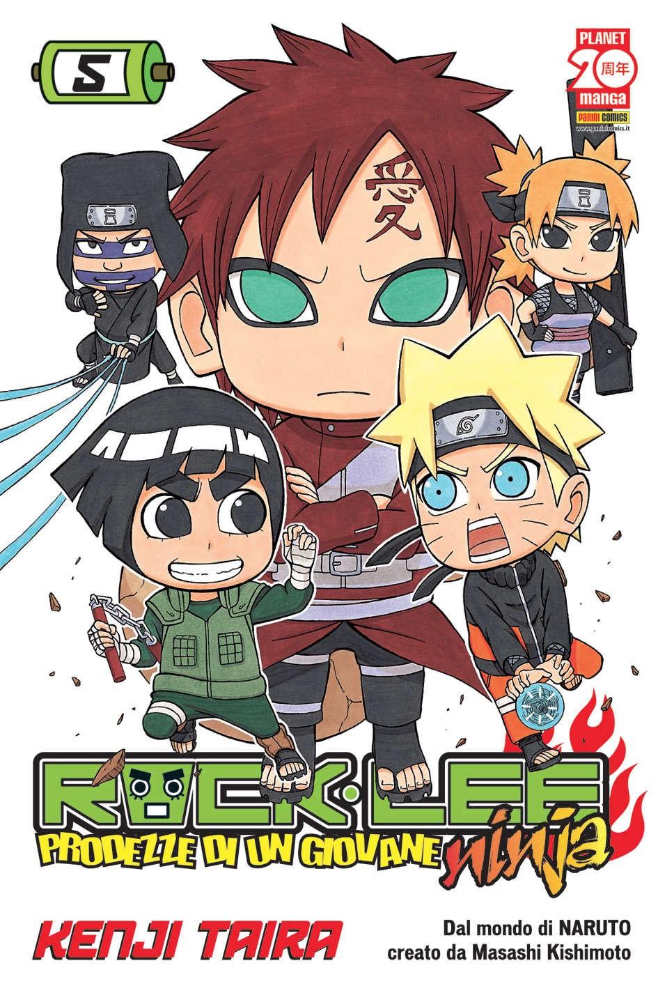Rock Lee - N° 5 - Prodezze Di Un Giovane Ninja - Manga Rock Planet Manga