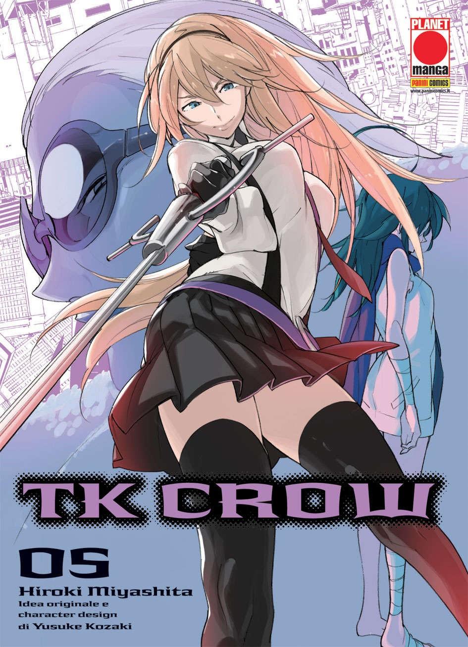 Tk Crow - N° 5 - Tk Crow - Planet Manga Presenta Planet Manga