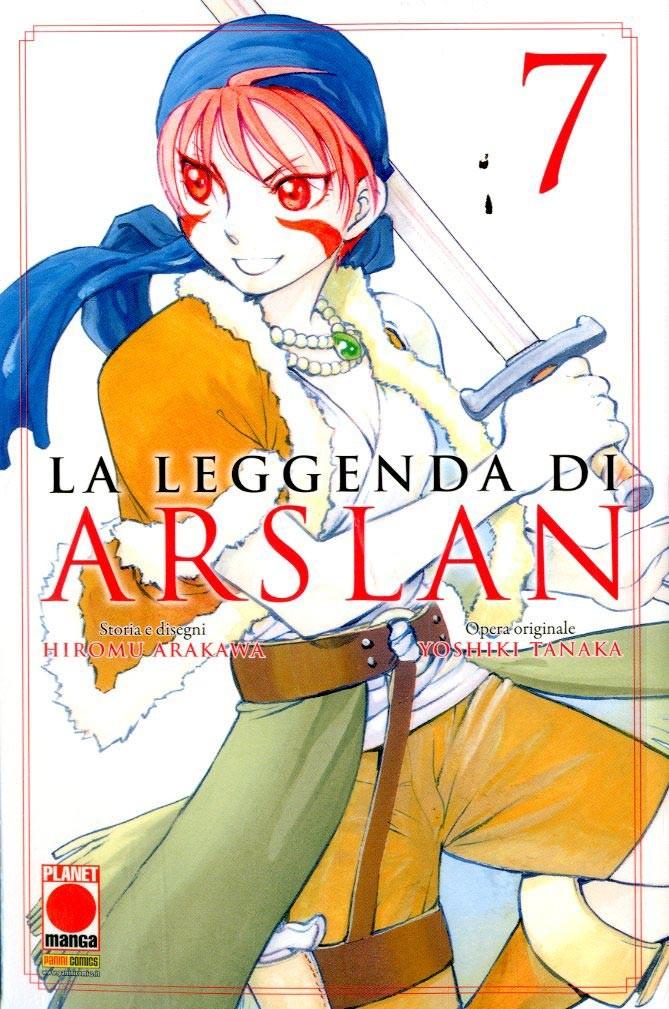Leggenda Di Arslan - N° 7 - La Leggenda Di Arslan - Senki Planet Manga