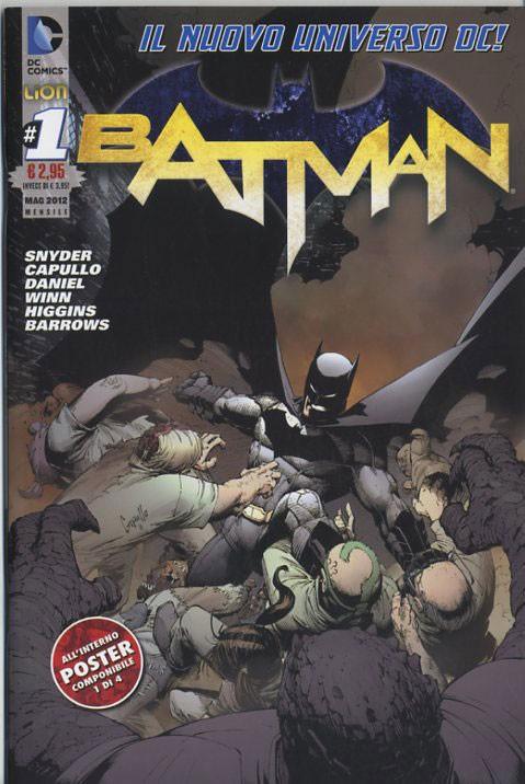Batman 2012 - N° 1 - Batman - Rw Lion