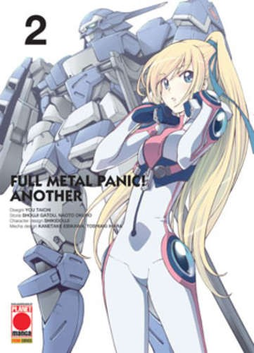 Fullmetal Panic! Another - N° 2 - Fullmetal Panic! Another 2 - Manga Top Planet Manga