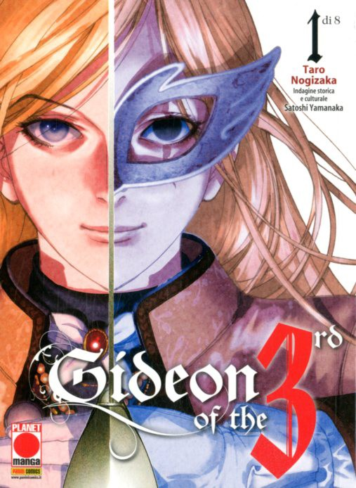 Gideon Of The 3Rd - N° 1 - Storia Di Un Rivoluzionario - Manga Icon Planet Manga