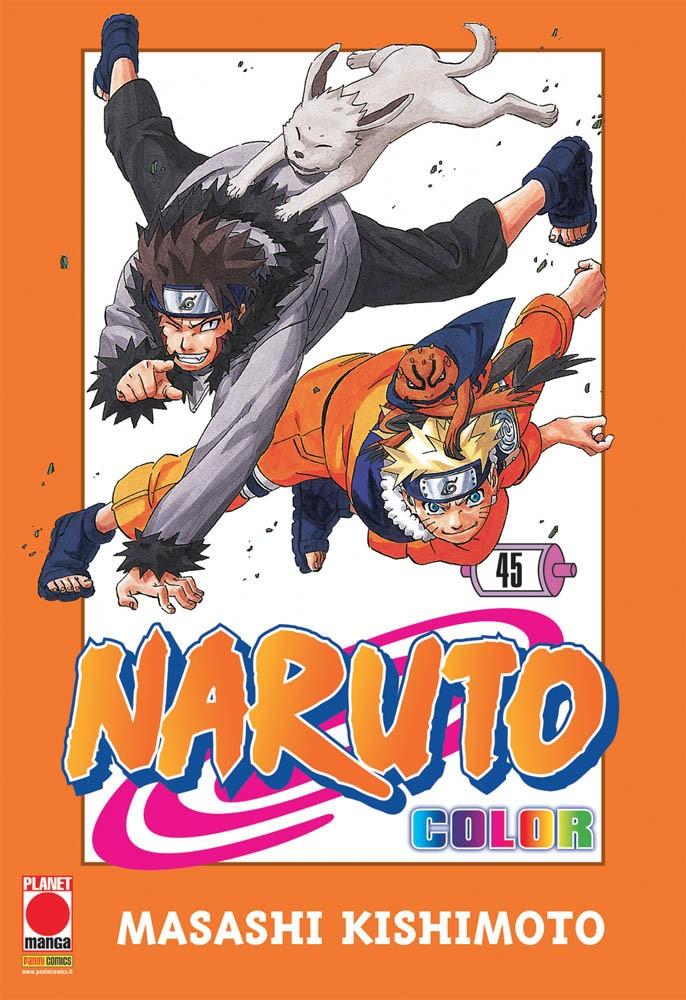 Naruto Color - N° 45 - Naruto Color - Planet Manga