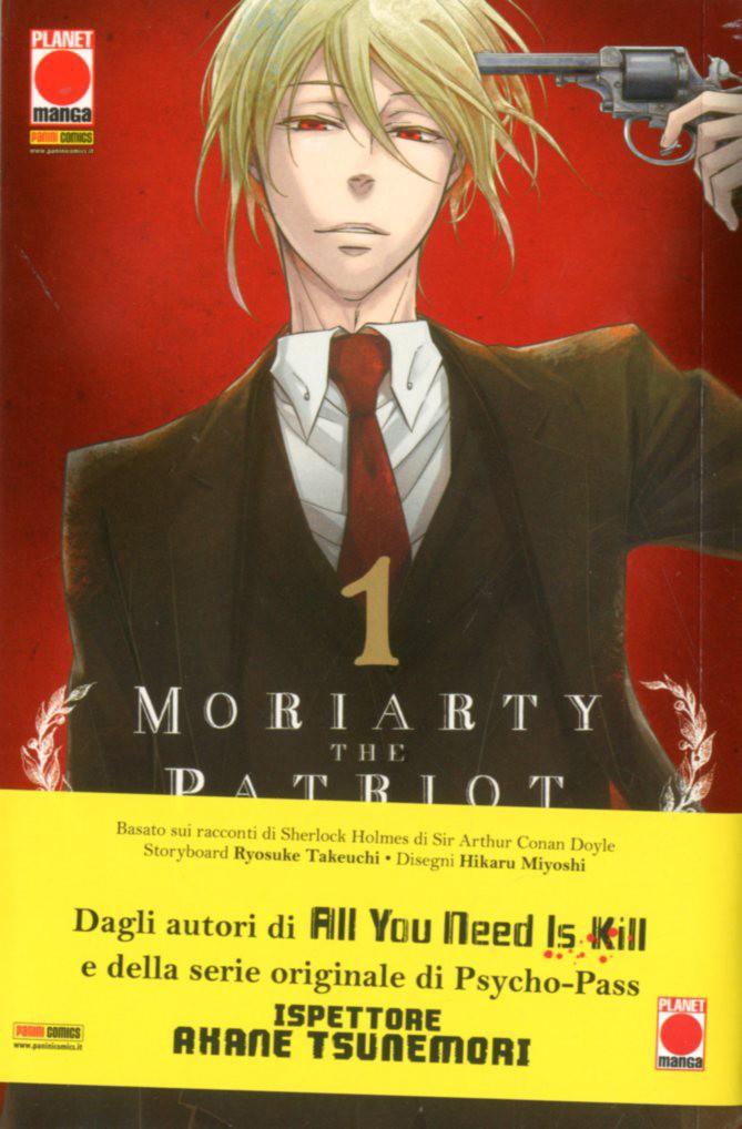Moriarty The Patriot - N° 1 - Moriarty The Patriot - Manga Storie Nuova Serie Planet Manga