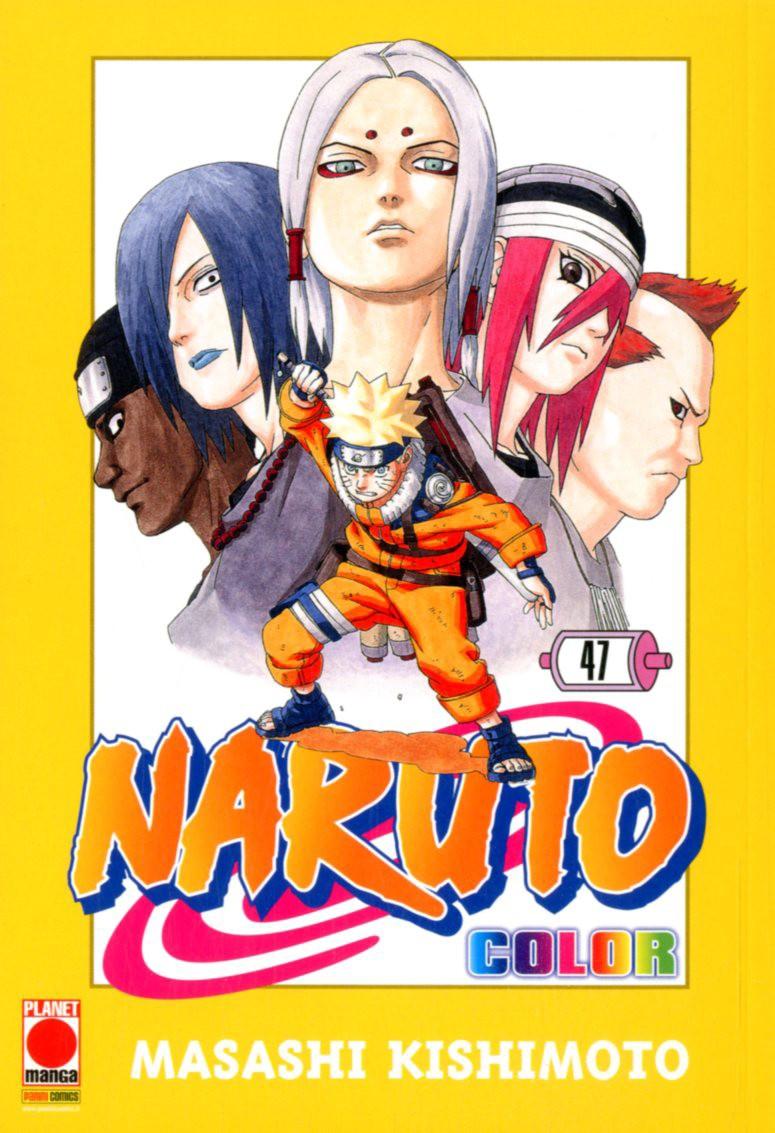 Naruto Color - N° 47 - Naruto Color - Planet Manga