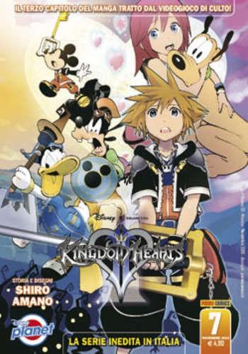 Kingdom Hearts Ii - N° 7 - Kingdom Hearts Ii - Planet Manga