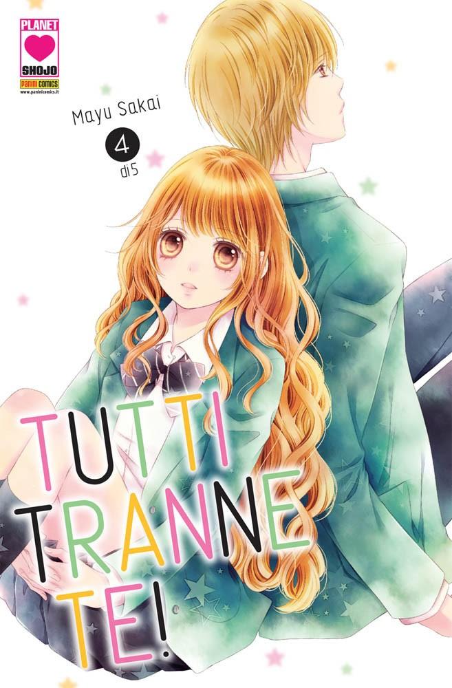Tutti Tranne Te! (M5) - N° 4 - Tutti Tranne Te! - I Love Japan Planet Manga