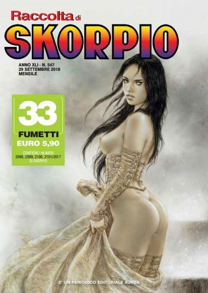 RACCOLTA SKORPIO RACCOLTA N. 0547