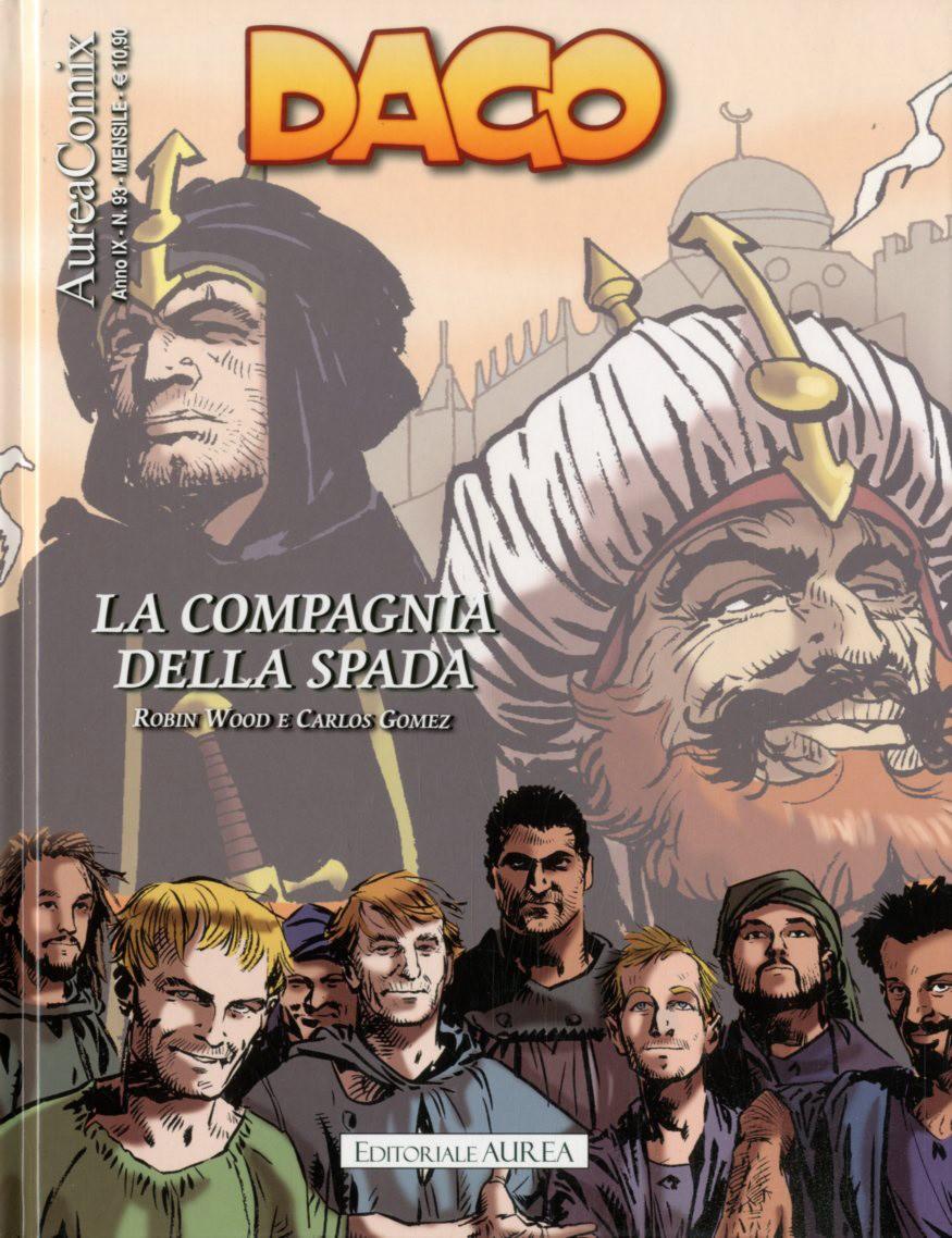 Aureacomix - N° 93 - La Compagnia Della Spada - Dago Editoriale Aurea