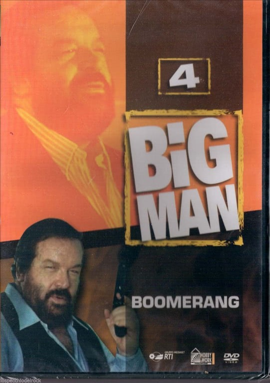 Big Man - Boomerang - vol. 4 Bud Spencer - DVD