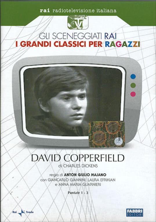 David Copperfield - Puntate 1-3 - I grandi classici per ragazzi DVD