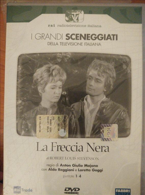 I GRANDI SCENEGGIATI DELLA TELEVISIONE ITALIANA-La Freccia Nera - Pt 1-4