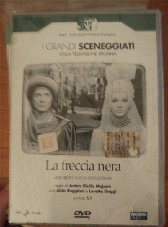I GRANDI SCENEGGIATI DELLA TELEVISIONE ITALIANA-La Freccia Nera - Pt 5-7