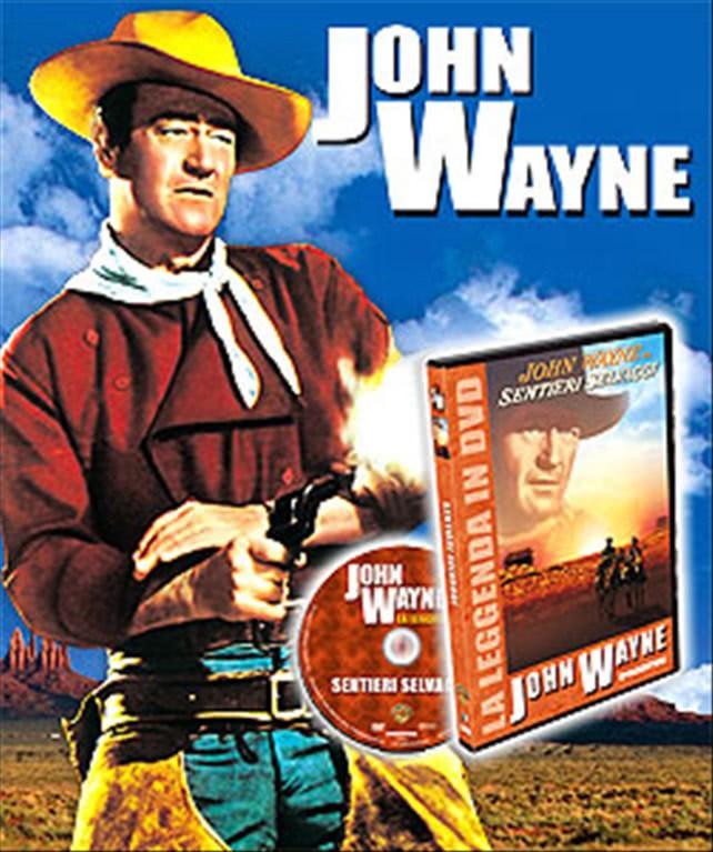 È una sporca faccenda, tenente Parker! - John Wayne - DVD De Agostini