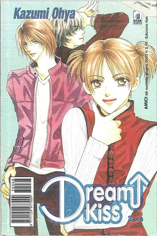 Manga DREAM KISS n.2 - ed. Star Comics - collana Amici uscita 68