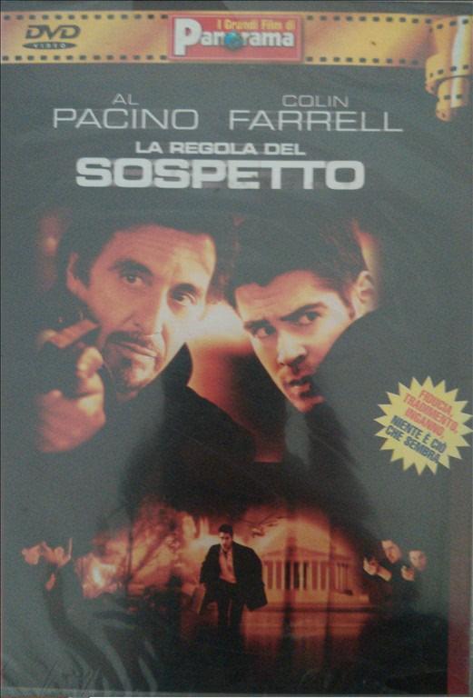 LA REGOLA DEL SOSPETTO - AL PACINO COLIN FARRELL - DVD THRILLER