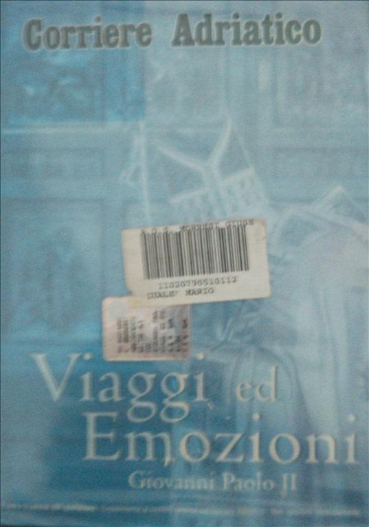 VIAGGI ED EMOZIONI DI GIOVANNI PAOLO II DVD DOCUMENTARIO
