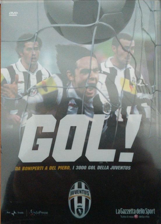 DVD Gol Juventus - Da Boniperti a Del Piero i 3000 Gol della Juventus - DVD n.17
