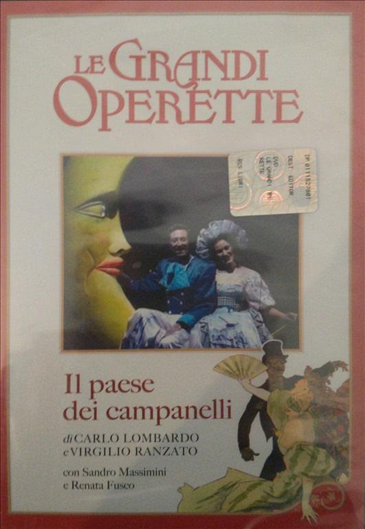 Il paese dei campanelli - Le Grandi Operette - DVD