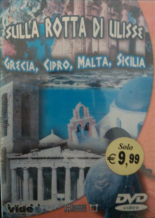 Sulla rotta di Ulisse - Grecia, Cipro, Malta, Sicilia - DVD Documentario