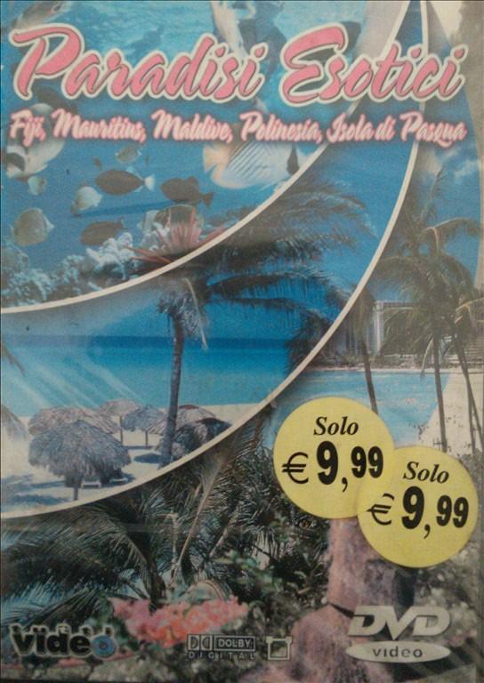 Paesi esotici - Fiji,Mauritius,Maldive,Polinesia,Isola di Pasqua - DVD Documentario