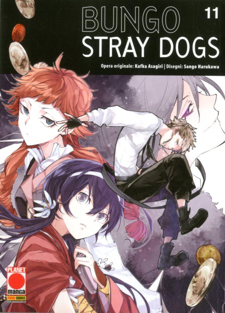 Bungo Stray Dogs - N° 11 - Bungo Stray Dogs - Manga Run Planet Manga