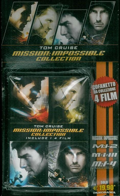 Dvd: Cofanetto da collezione Mission Impossible - 4 FILM - Tom Cruise
