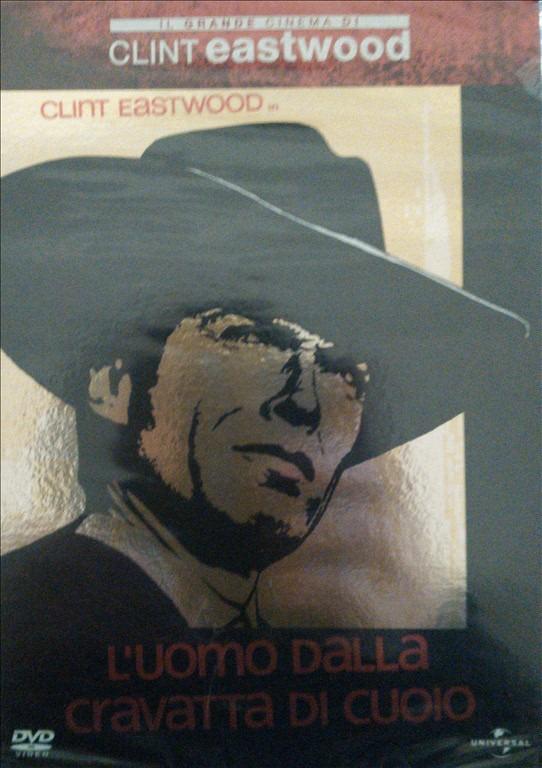 L'uomo dalla cravatta di cuoio - Il grande cinema di Clint Eastwood n.22 - DVD