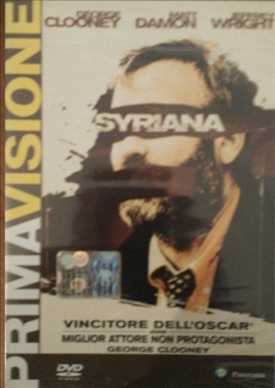 Syriana - George Clooney - DVD