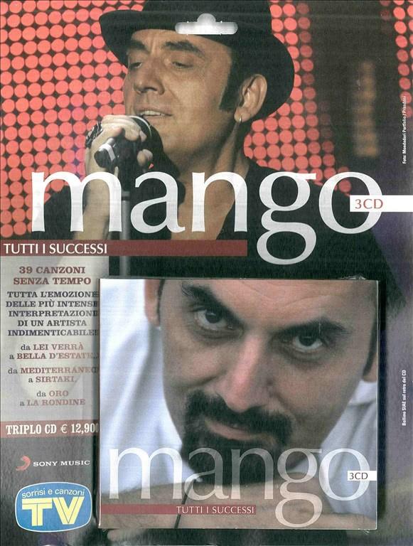 Tutti i successi di MANGO in 3 CD - da Sorrisi e canzoni TV