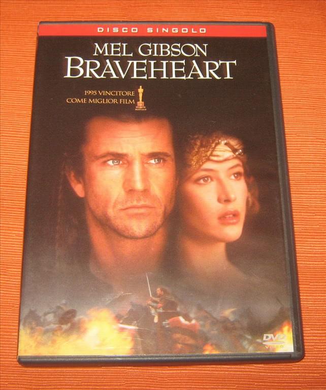 Braveheart - Mel Gibson - DVD