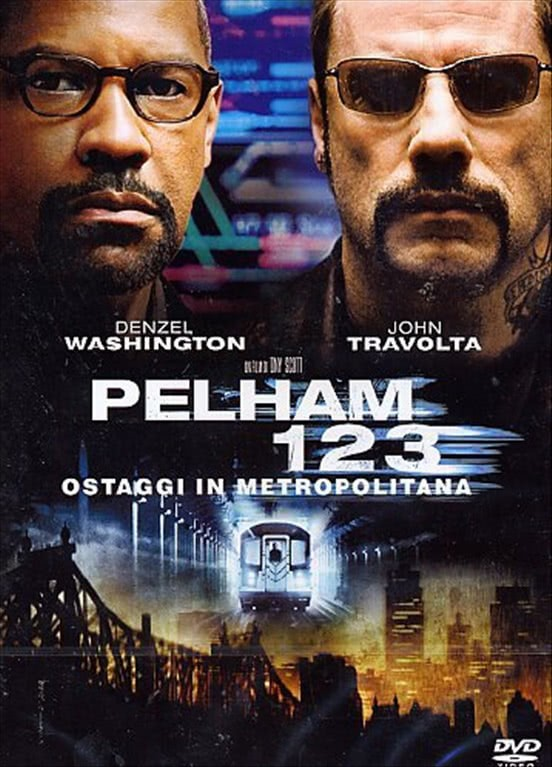 Pelham 1 2 3 - Ostaggi In Metropolitana - Denzel Washington - DVD