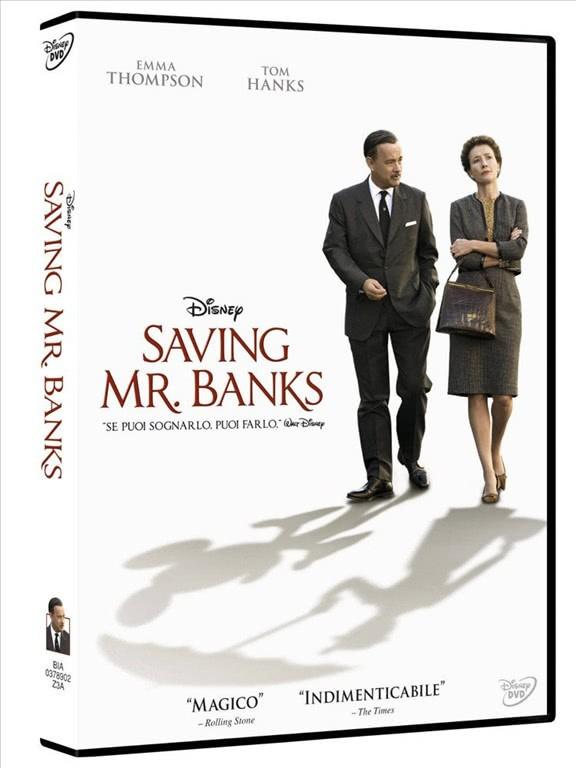Saving Mr. Banks - Tom Hanks - DVD