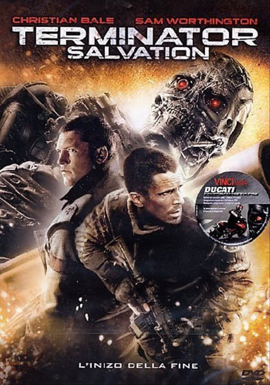 Terminator Salvation - Christian Bale - DVD