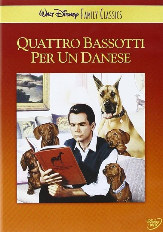 Quattro Bassotti Per Un Danese - Walt Disney Famili Classic - DVD